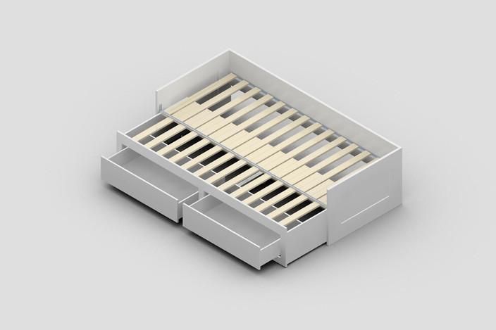 Ikea brimnes daybed frame for Brimnes daybed ikea