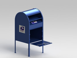 United States Postal mail box