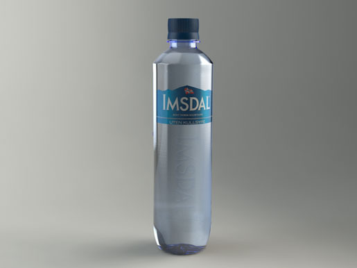 Imsdal bottle   3D CAD Model Library   GrabCAD
