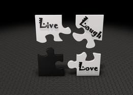 Live, Laugh, Love Tiles