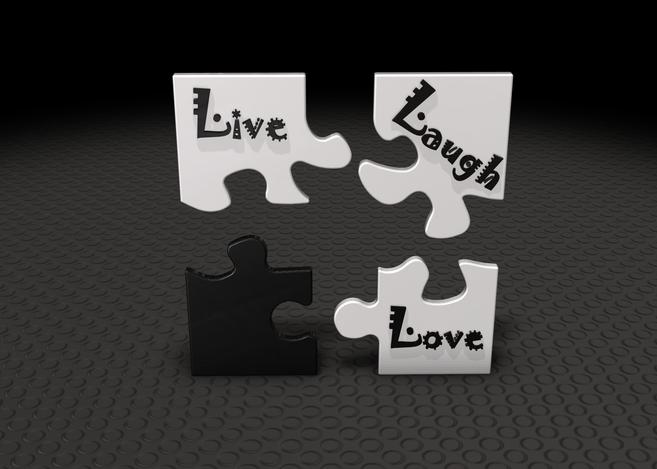live laugh love 3d - photo #3
