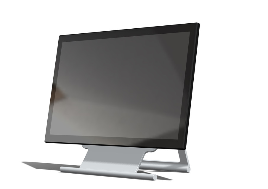 21 5inch Multi-touch Monitor DELL S2240T | 3D CAD Model