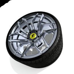 Ferrari Dino Wheel