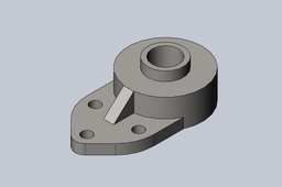 "1"" Bore 3-hole Flange Bearing"