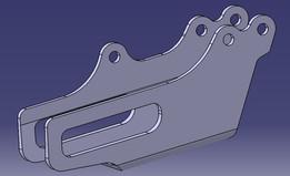 honda crf 250 chain guide plate