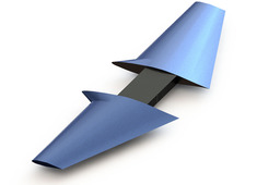 Wing-Airfoil Solid Model