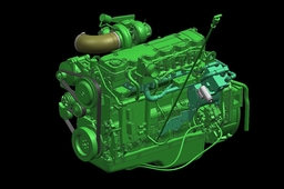 engine  CUMMINS QSB6,7