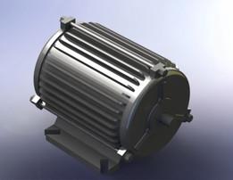 Eberle 1/3 HP induction motor