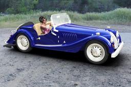 Morgan sports car