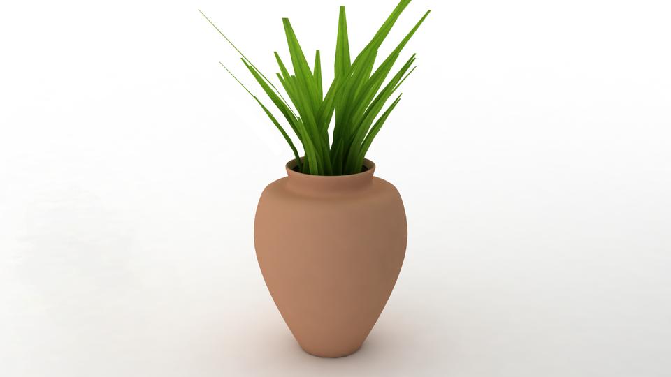 Flower Vase 3d Cad Model Library Grabcad