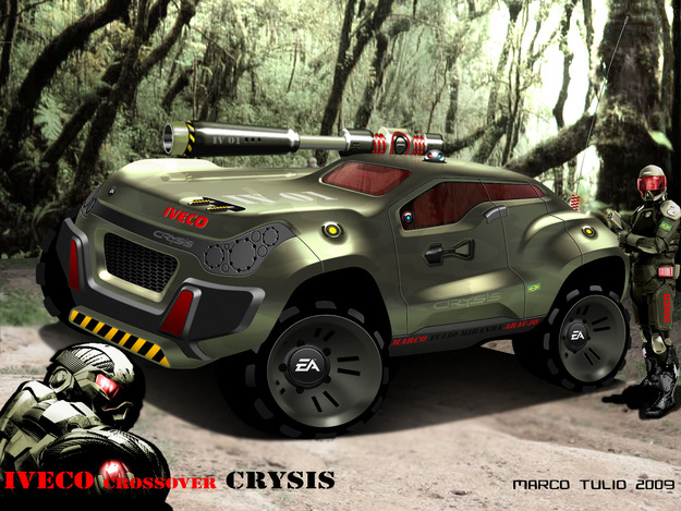 Concept crossover CRYSIS / SUV assault