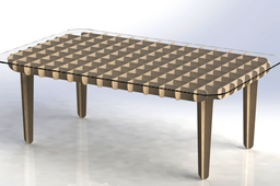 Flat Pack Coffee Table