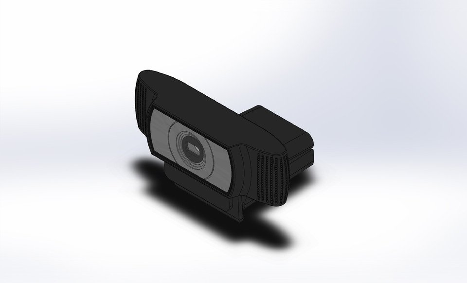 Logitech Hd Pro Webcam C920 3d Cad Model Library Grabcad