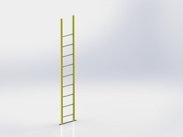 Square Tube Ladder