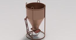 Bottom Discharge Concrete Bucket