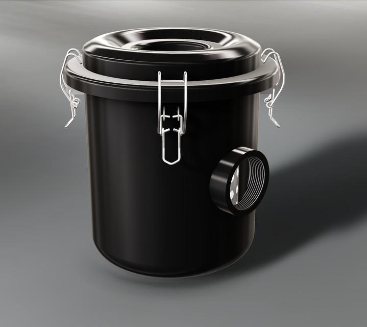 Vacuum Pump Filter   3D CAD Model Library   GrabCAD