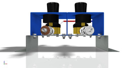 SUPPLY UNIT FOR OXYGEN - ACETYLENE GAS