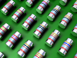 MELF Resistors 0102 E24 series 1% and 5%