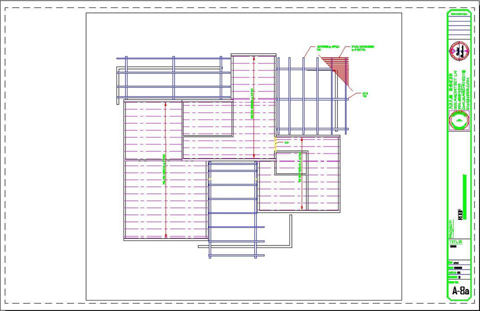 Roof framing plan autocad images for Roof drawing software