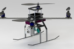 Drone Quadcopter stabilized for FPV