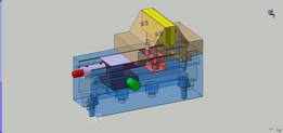 Zostava zveráku 100mm + simulation