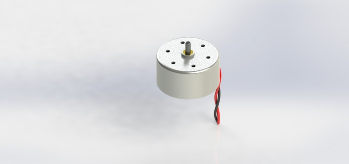 Low inertia solar motor