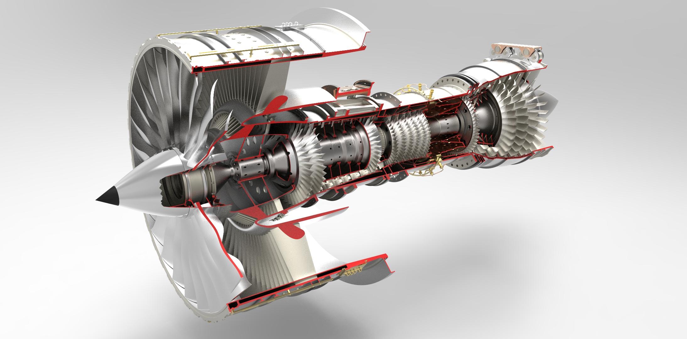 Jet Engine Models Model Aircraft Diesel Engines