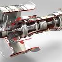 Jet Engine - keyshot rendering competition #2