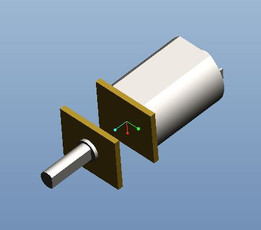 Micro metal gearmotor HP/LP (No gearing)