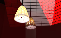 Dual structure Lamp Shade