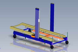 Lifting Fixture - Hydraulic Lift