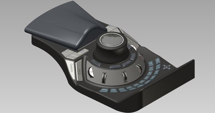 3D Mouse Design Proposal 4 Autodesk Inventor CAD