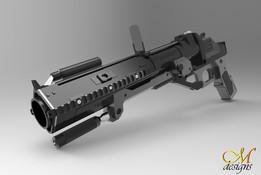 M319 Grenade Launcher Model