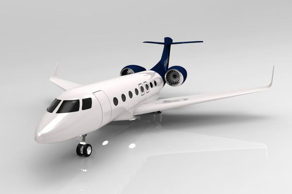 Gulfstream g650er step iges 3d cad model grabcad load in 3d viewer uploaded by anonymous malvernweather Choice Image