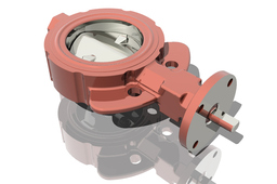 BUTTERFLY VALVE 4.0 KEYSTONE WAFER