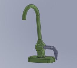 3D printing faucet