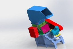 Plastic Shredder (Recycle) Machine