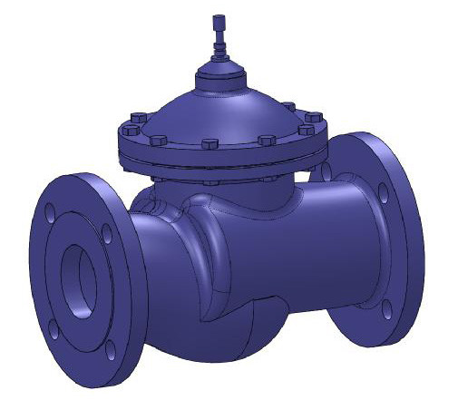 Dorot pressure reducing valve 3d cad model library grabcad ccuart Images