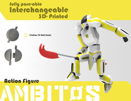 Ambitos Interchangeable Action Figure