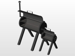 smoker - Recent models   3D CAD Model Collection   GrabCAD Community