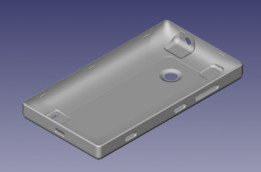 back pannel of nokia lumia 520