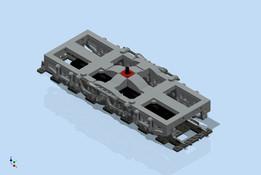 LEGO EMD DDA40X-Radsatz (Do-Do)