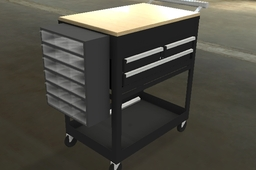 Waterloo Tool Cart with tools - 5S
