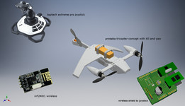 drone tricopter