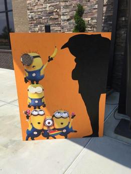 Minion Photo Cutout Boards