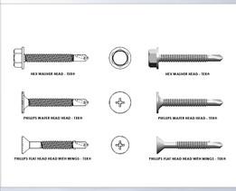 Series Drill TEK screw
