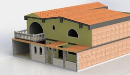 Diseño de vivienda.