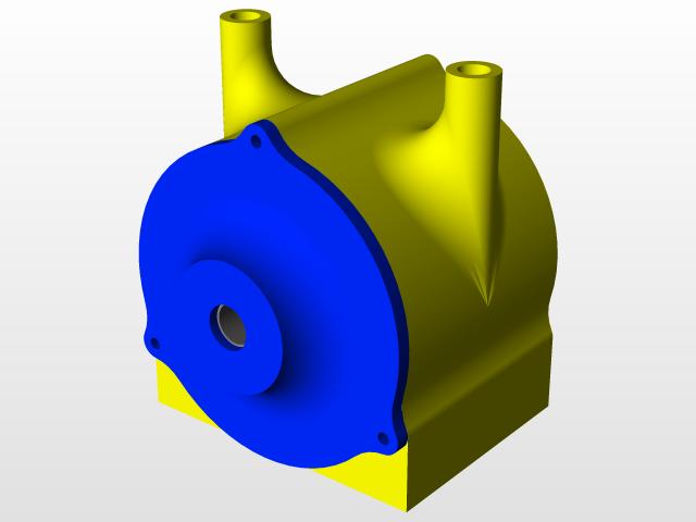 Tesla Turbine - 3D Printable | 3D CAD Model Library | GrabCAD
