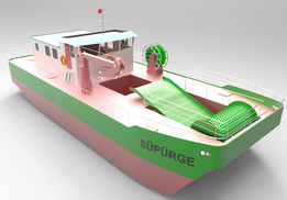 """Süpürge"" Sea Cleaner Ship"