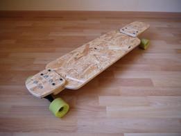 Forked Drop-Down Longboard